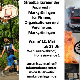 Streetballturnier bei der Feuerwehr Markgröningen